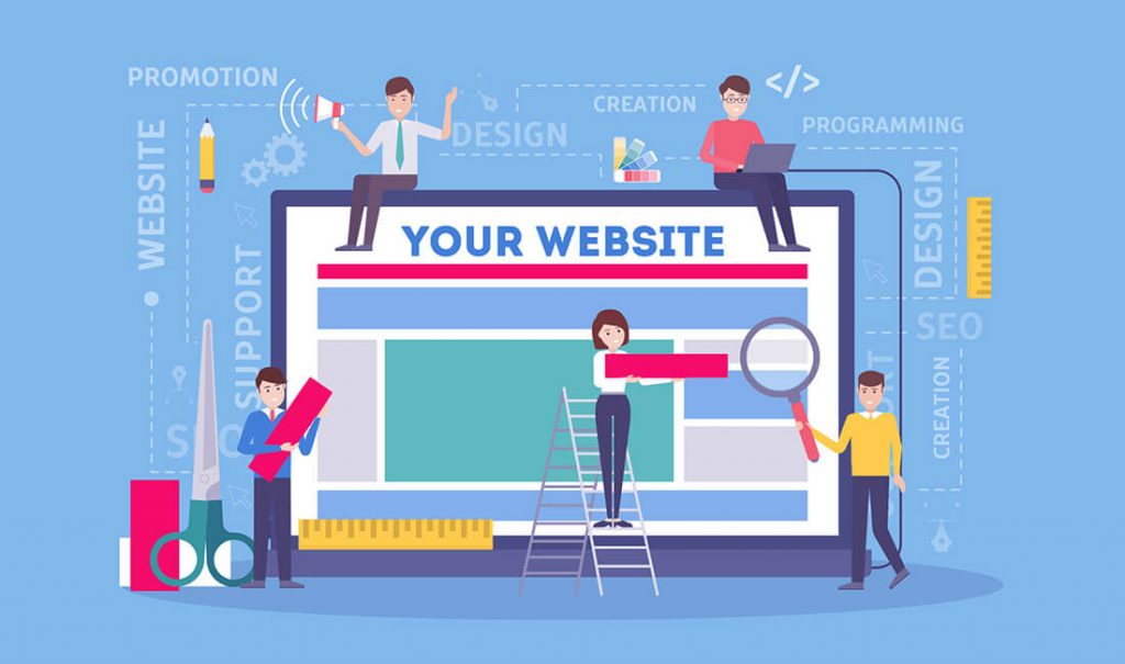 10 Easy Steps How Website is Created 2