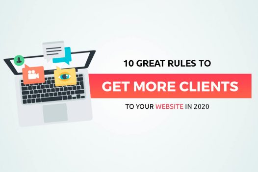 get more clients to the website